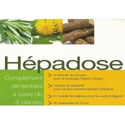 HEPADOSE (plantes+huiles essentielles+racines) - NUTRITION CONCEPT