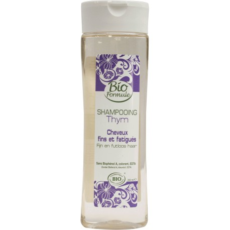 Shampoing Thym bio (cheveux fatigués) - Bio Formule