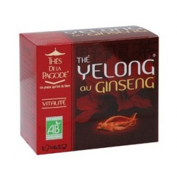 Thé Yelong ginseng - Vitalité - Thés de la Pagode