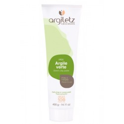 Pâte d'argile verte (400g) - Argiletz