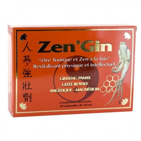 Vente ZEN'GIN force,détente ZEN'G01 Compléments alimentaires et bio