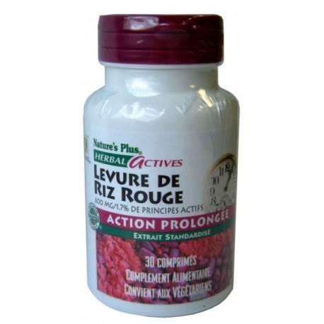 Vente LEVURE DE RIZ ROUGE(nature plus) 7360 Circulation / Cholestérol