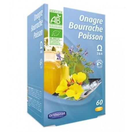 Vente ONAGRE BOURRACHE POISSON 257/29 Cosmétique bio et naturel