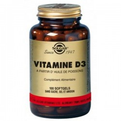 VITAMINE D3 - SOLGAR