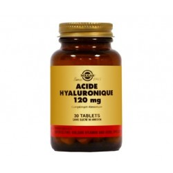 ACIDE HYALURONIQUE 120 MG (Produits Solgar)