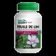 Huile de lin - Herbal Actives - Nature's Plus